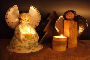 "Weihnachtsengel, ""Keramik-Studio Berg"""