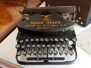 Adler - Schreibmaschine