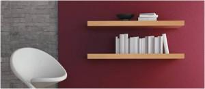 Regalraum – Holzregal für die Wand