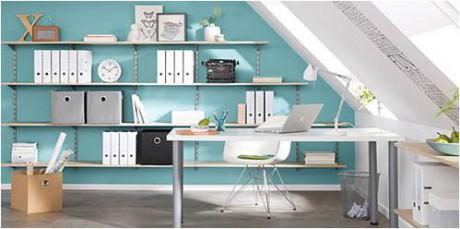 Regalraum - Regalsysteme für individuelle Lösungen im Home-Office