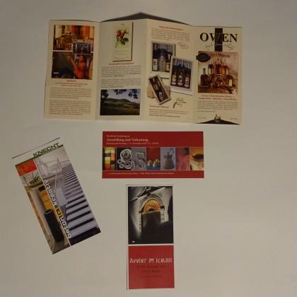 Flyer - Karten im Flyerformat © Bürodienste-in