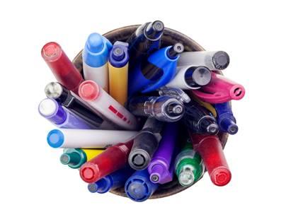 """Kugelschreiber, der Stift, der gerne """"stiften geht"""" © istock.com/Roel Smart"""