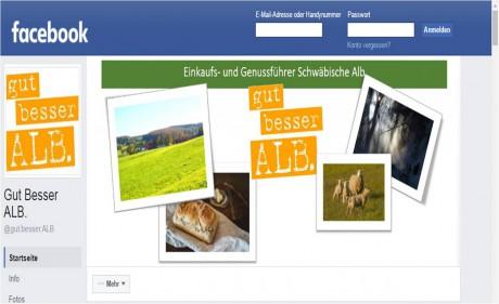 Plattform regionaler Spezialitäten der Alb Screenshot