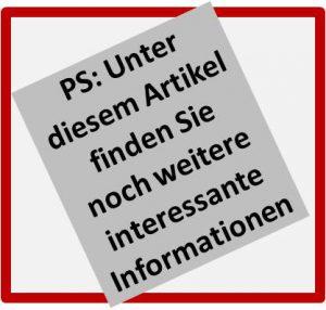 PS: Als Informationsabschluss nutzen ©Bürodienste-in