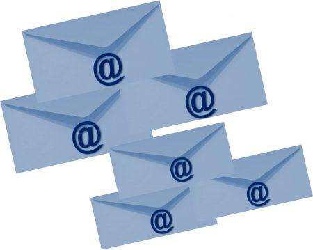 E-Mails - manchmal einfach zu viel ©Bürodienste in